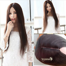Fashion Sexy Straight Long Hair Cosplay Synthetic Party Full Wig Women &Free Cap