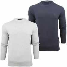 Mens Jumper French Connection FCUK Auderly Italic Crew Neck Cotton
