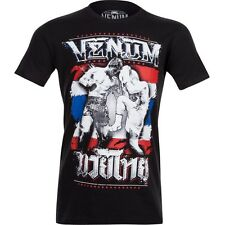Venum Thai Chok T-Shirt Black MMA BJJ Grappling