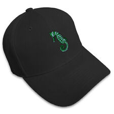 Sea Horse Style 2 Embroidery Embroidered Adjustable Hat Baseball Cap