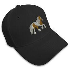 Gypsy Vanner Horse Embroidery Embroidered Adjustable Hat Baseball Cap