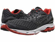 MIZUNO WAVE INSPIRE 12 SHADOW BLACK MENS RUNNING SHOES **FREE POST AUSTRALIA