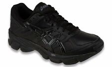 ASICS GEL 190 TR LEATHER BLACK WOMENS TRAINING SHOES **FREE POST AUSTRALIA