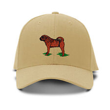 Shar Pet Dog Embroidery Embroidered Adjustable Hat Baseball Cap