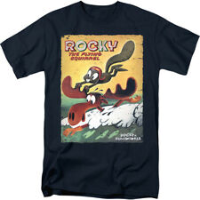 Rocky And Bullwinkle Vintage Poster Licensed Adult Shirt S-3XL