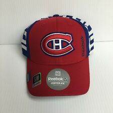 Montreal Canadiens Reebok Cap 2016 Official NHL Draft Stretch Fit Fitted Hat