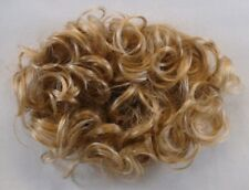 WOMENS LADY PULL-THROUGH HAIR TOPPER WIGLET BANGS HAIRPIECE ENHANCER CROWN PEARL