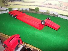 Corgi Modern Trucks Heavy Haulage Joal Red Low Loader Trailer Only 1/50 Code 3