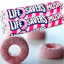 MUSK LIFESAVERS 80hr Scented Candle Melt Clam Pack TRIPLE SCENTED