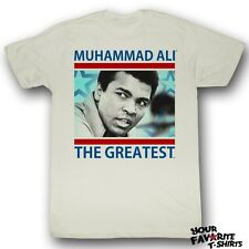 Licensed Muhammad Ali The Greatest Adult Shirt S-2XL