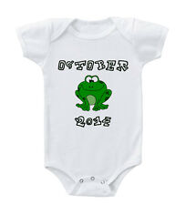 Cute Frog Custom Infant Toddler Baby Cotton Bodysuit One Piece
