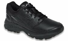 ASICS GEL FOUNDATION WORKPLACE BLACK 2E XWIDE WOMENS SHOES **FREE POST AUST