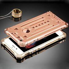 Metal Aluminum Back Bumper Hard Case Cover for Apple iPhone 6 4.7&6s Plus 5s SE