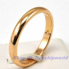 Size 7.5,8.5,9.5 Ring,REAL SUBLIMATE 18K ROSE GOLD GP SOLID FILL GEP SOLID FILL