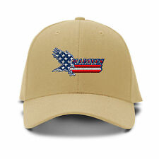 Marines American Flag Embroidery Embroidered Adjustable Hat Baseball Cap