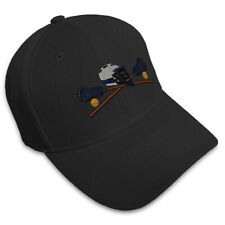 Lacrosse  Embroidery Embroidered Adjustable Hat Baseball Cap