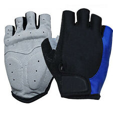 M-XL Cycling Bicycle Bike Motorcycle Gel Silicone Half Finger Fingerless Gloves