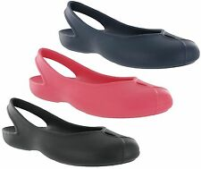 Womens Crocs Olivia II Flat Smart Casual Work Comfort Ballerina Shoes Sandals