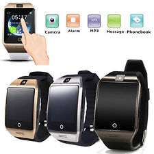 Touch Screen Bluetooth Smart Watch Phone W Camera Support SIM For Android Phone