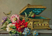 Victorian Music Box ~ Vintage ~ Counted Cross Stitch Pattern