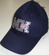 "FOX RACING 1999 FOX 100% MIX NAVY LOGO HAT CAP BRAND NEW ""U PICK SIZE"""