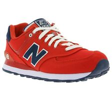 New New Balance 574 Shoes Women's Sneaker Trainers Red WL574POR Leisure SALE