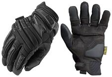 Mechanix Covert Work Gloves, Mechanix Black Mpact II Gloves