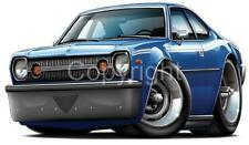 AMC Hornet Hatchback Muscle Car Cartoon Tshirt 9503 automotive art