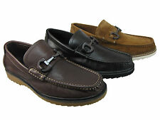 Kenneth Cole Mens Fair N Square Black Brown Or Tan Casual Loafers Slip-On Shoes