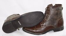 NEW Mens STEVE MADDEN M-Bach Brown Ankle Boots Casual Shoes