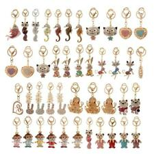 43 Style Crystal Rhinestone Keyring Charm Pendant Key Chain Bag Purse Car Gift