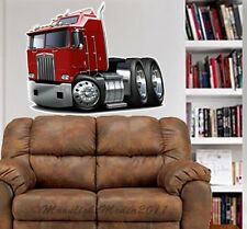Kenworth K100 Big Rig WALL GRAPHIC DECAL MAN CAVE ROOM MURAL PRINT BJ 9543
