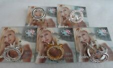 Chick by Nicky Hilton Genuine Crystal Circle Fashion Ring NWT