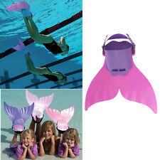 New Mermaid Tails Fits Child/Youth Age 8-15 Swim Flipper Adjustable Swimming Fin