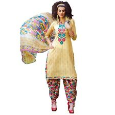 Ready To Wear Cotton Embroidered Printed Salwar Kameez Suit India-KK-Summer-1502