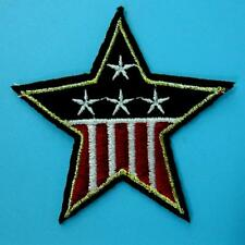 Usa American Flag Star Iron on Sew Patch Badge Embroidered Biker Army Stripe Lot