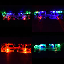 Light Up New Years Eve Party Supplies 2016 Glasses Glowing Eye LED Shades CAHU