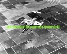 USAF Lockheed F-104A Photo Military Black n White  F 104 Fighter Jet Aircraft