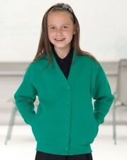 Jerzees Schoolgear Childrens-Kids-Teens Sweatshirt Cardigan
