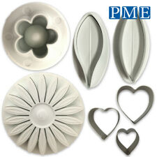Icing Cutter Flower Cakes by PME – Lily Blossom Sunflower Heart for Sugarpaste
