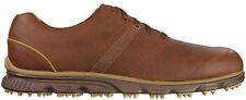 FootJoy DryJoys Casual Golf Shoes 53632 Medium Brown Tan Mens Closeout New