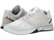 REEBOK CROSSFIT NANO 5.0  CHALK STEEL BLACK WOMENS SHOES **FREE POST AUST
