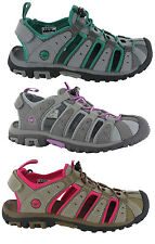 Hi-Tec Shore Sport Adventure Trail Walking Closed Toe Womens Sandals Shoes UK4-8