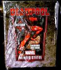 Bowen Designs Action Deadpool Marvel Comics X-Men Statue New from 2012
