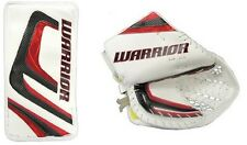 Warrior Messiah Pro goalie blocker glove catcher senior regular black red hockey