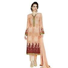 Designer Georgette Embroidered Salwar Kameez Suit Indian Dress-Sim-Royale-741