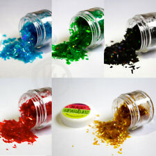 Edible Glitter Flakes MAGIC SPARKLES 10 Colours Cake Decorating White Gold Blue