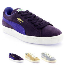 Womens Puma NC Suede Lace Up Low Top Casual Retro Sports Trainers Shoes UK 3-8