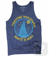 BOATS N HOES Prestige Worldwide Funny Step Brothers Catalina Wine Mixer Tank Top