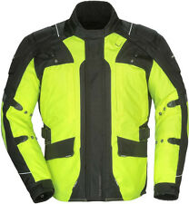 Tourmaster Transition 4 Ladies Motorcycle Jacket HiViz Yellow Free Size Exchange